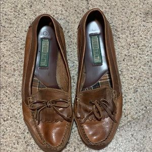 Hardly Worn Leather Loafers